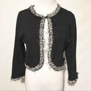 Vintage (80's) Victor Costa Cropped Bolero Jacket